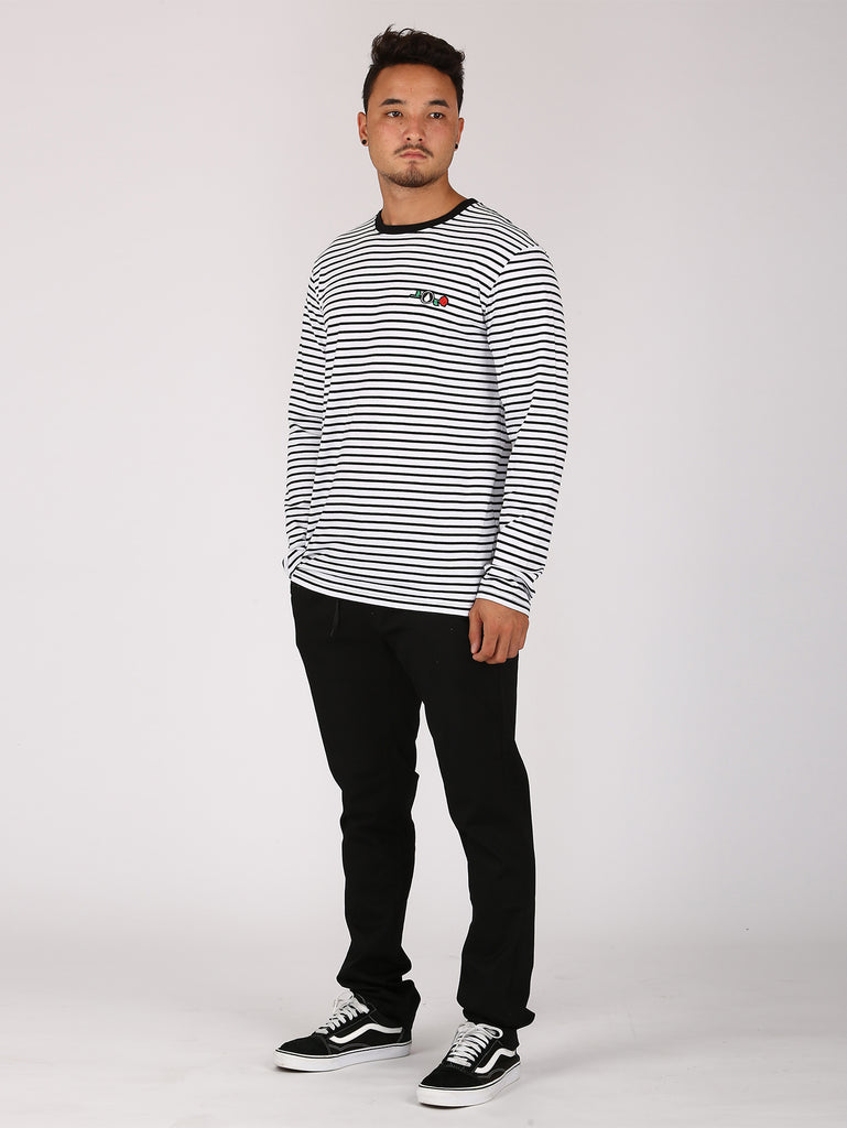 Breton Long Sleeve - White