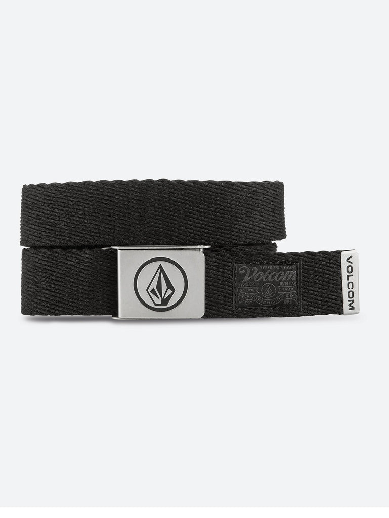 Circle Web Belt - Stoney Black