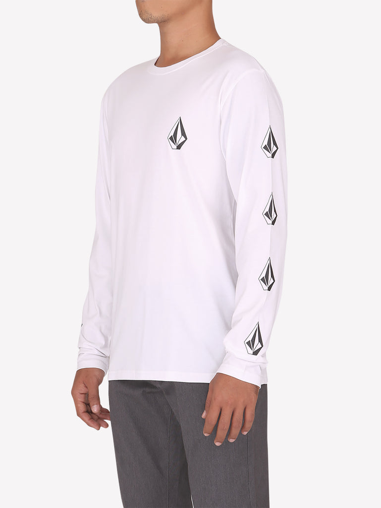 Deadly Stone Long Sleeve - White