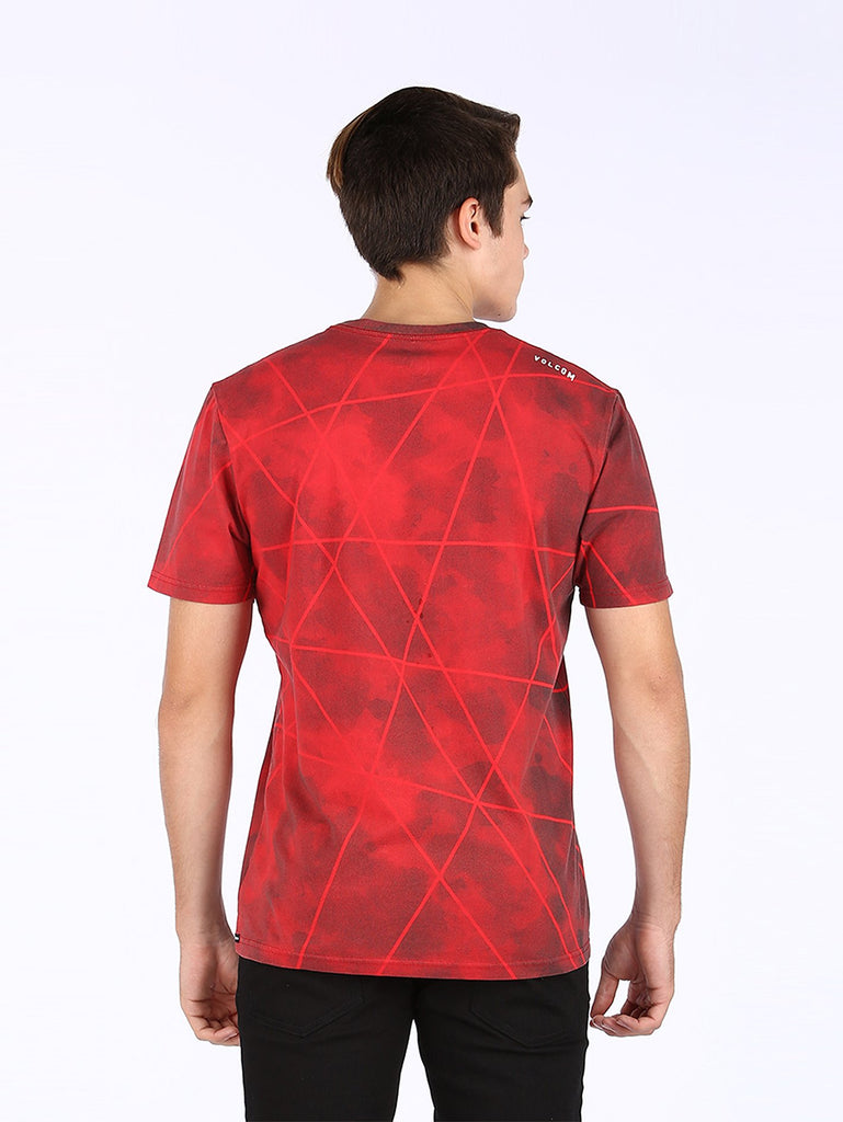 Linoplasm Tee - True Red