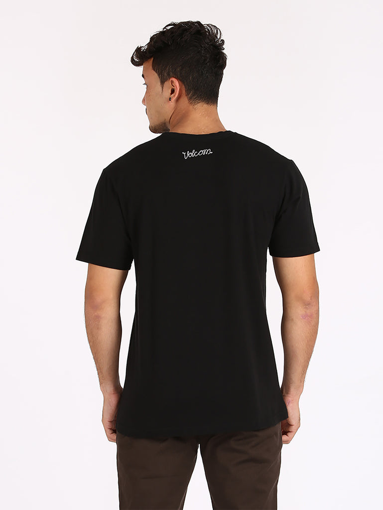 Rubber Band Tee - Black