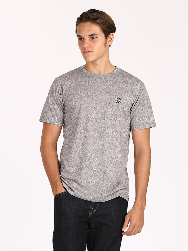 Solid Ct S2 18 Tee - Heather Grey