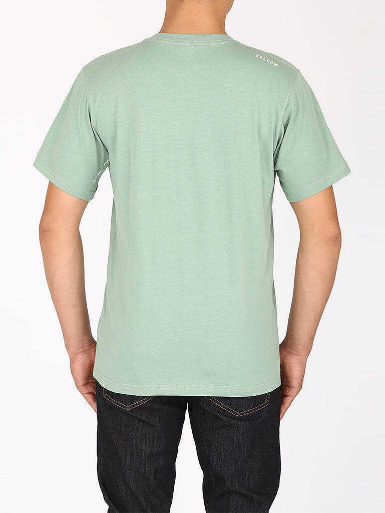Spray Stone Tee - Hedge Green