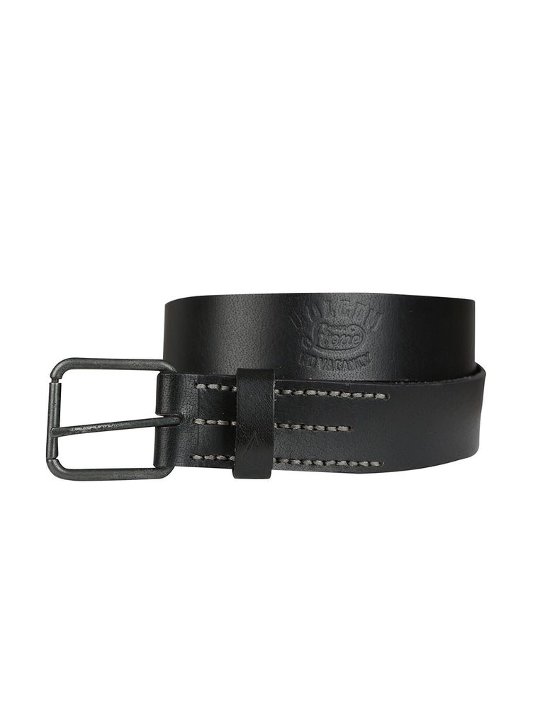 Stone Army Belt - Black