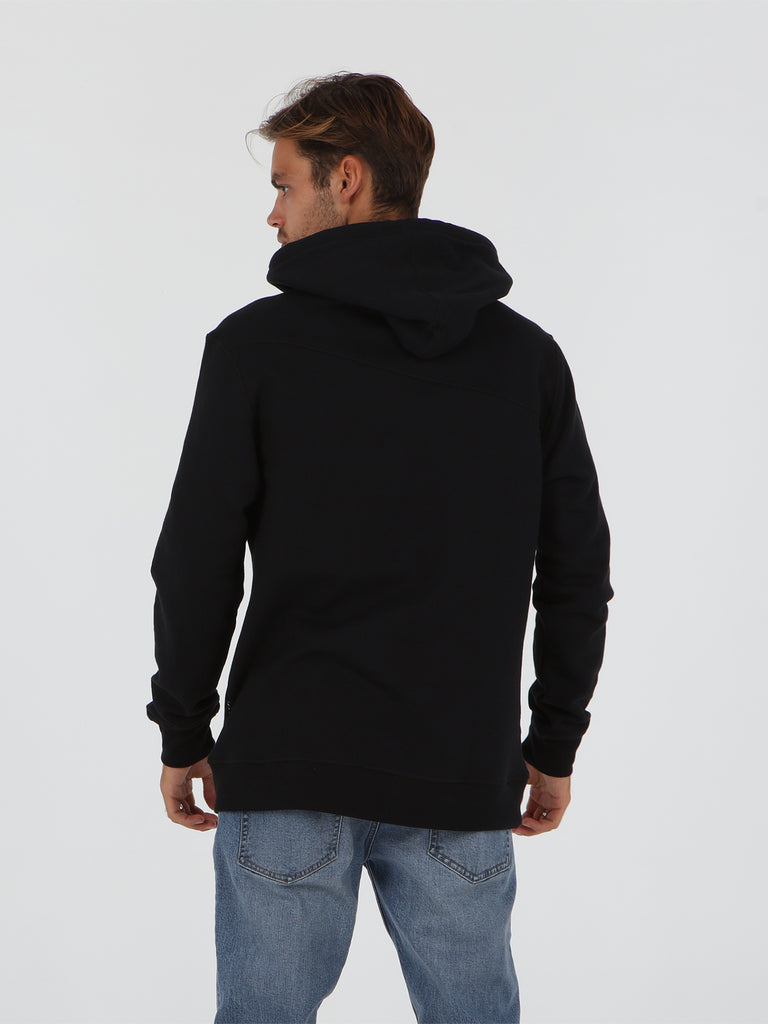 Stone Pullover Jacket - Black