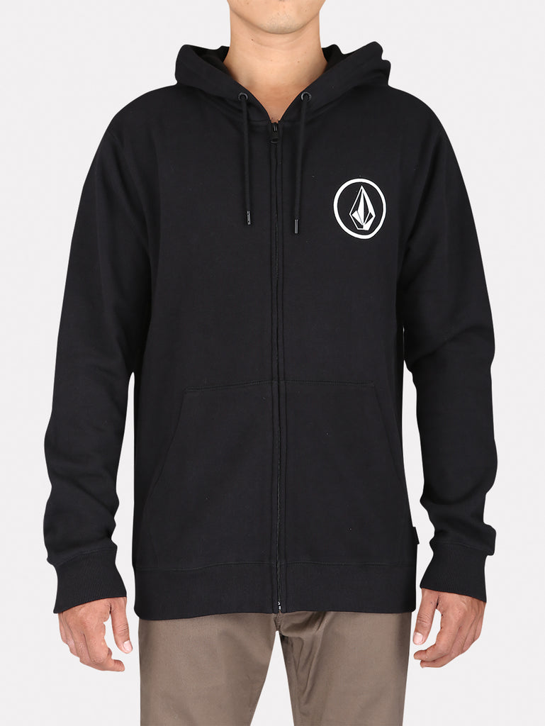 Stone Zip Fleece - New Black