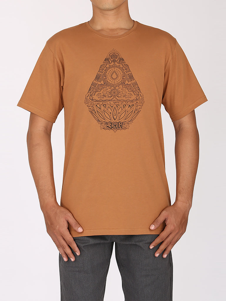 The Light Tee - Mocha