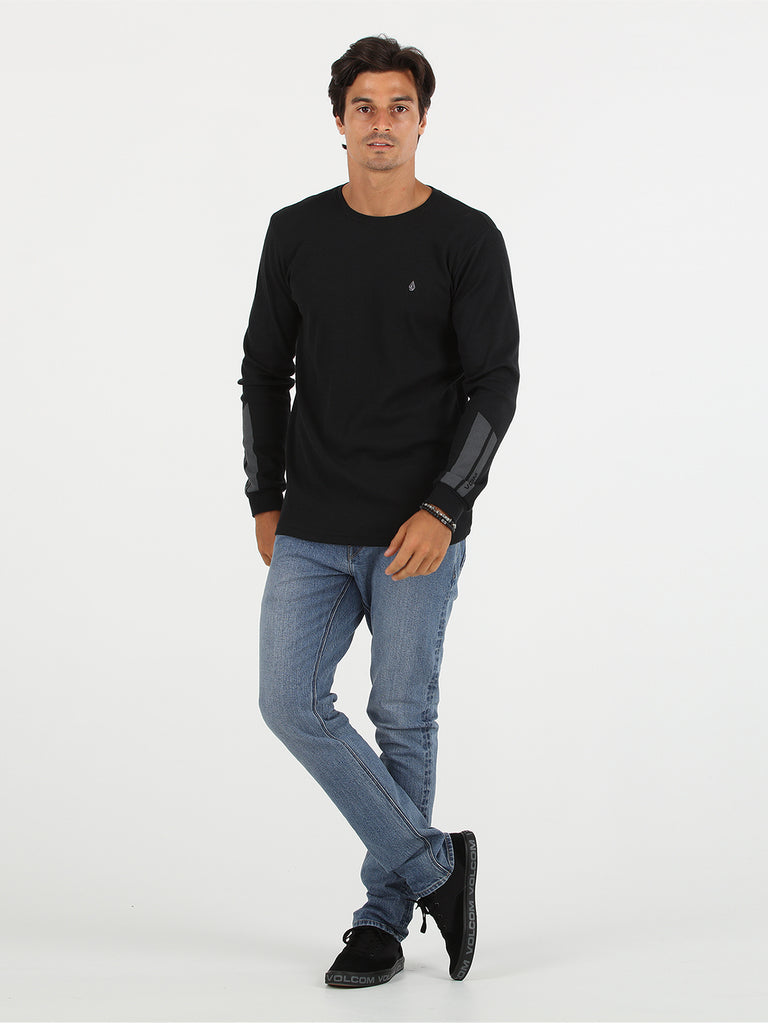 Vaster Thermal Long Sleeve Tee - Black