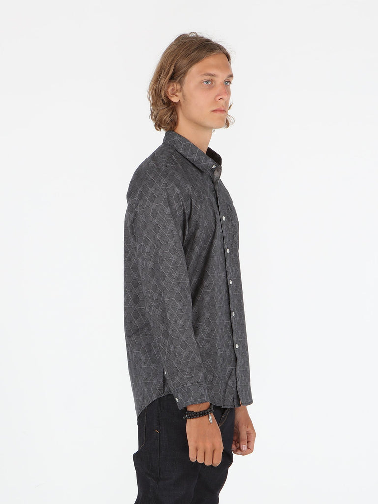 Zen Long Sleeve Shirt - Black