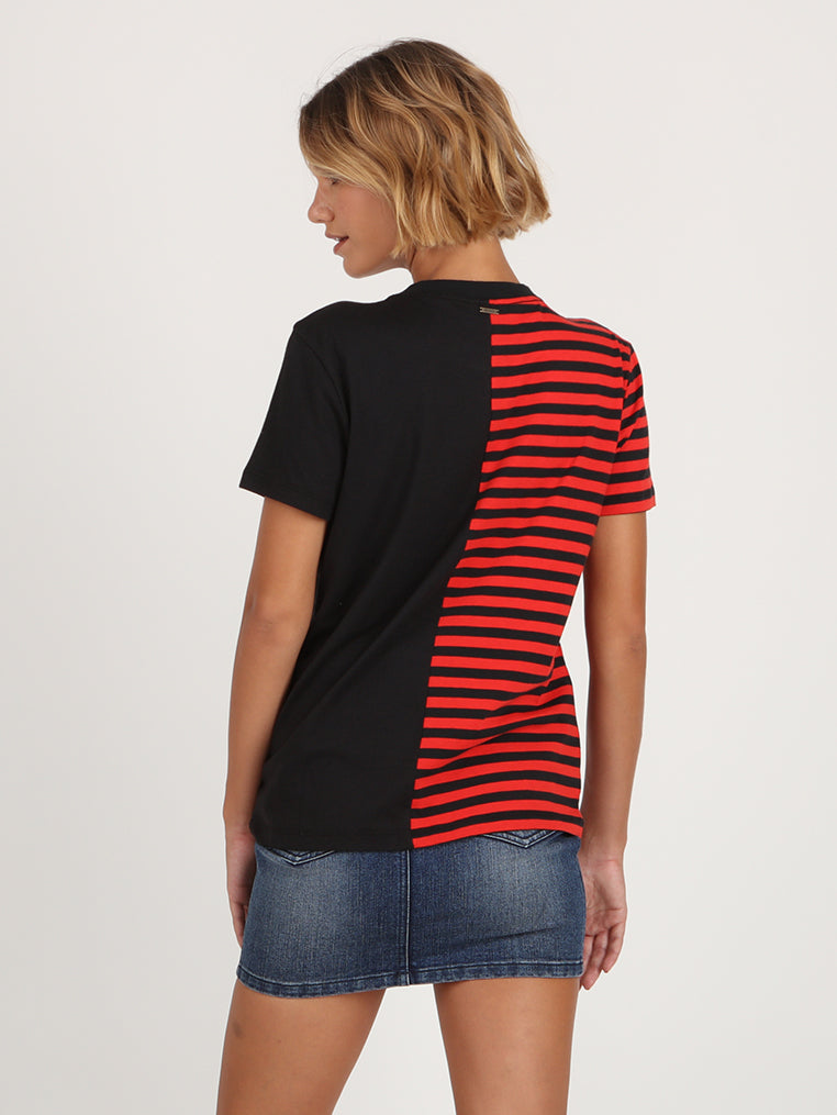 Rad Fashion Top - Black Stripe