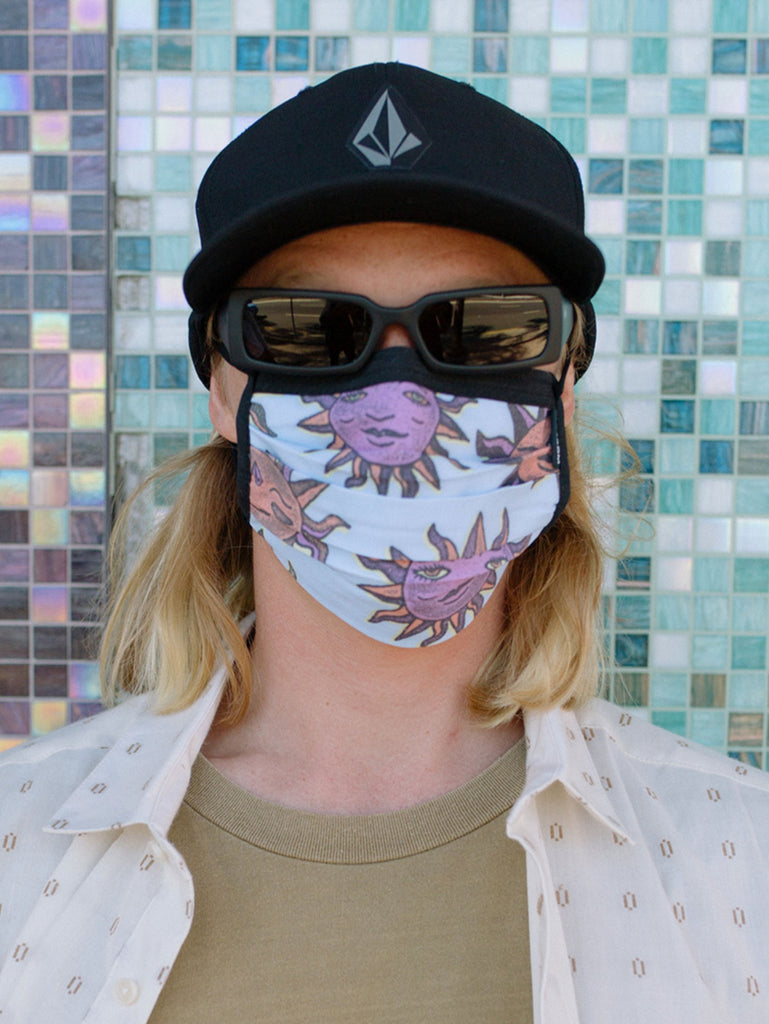 Volcom Assorted Face Mask - Aether Blue