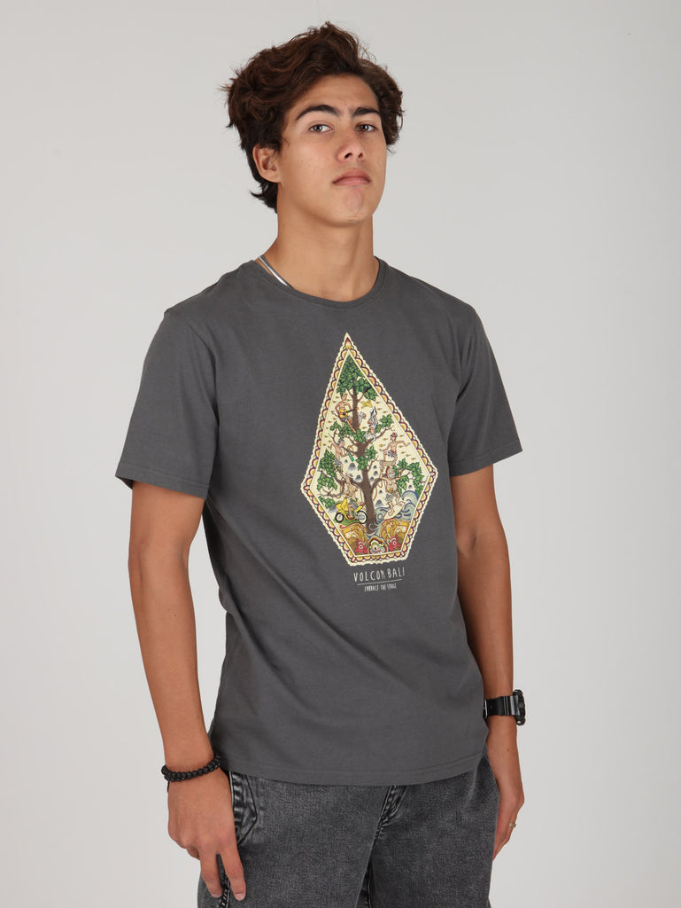 Tree Of Life Tee - Dark Grey