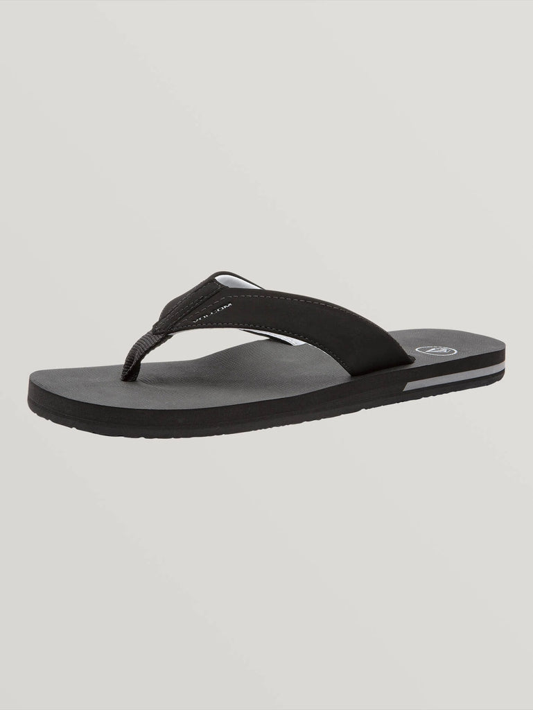 Victor Sandals - Black Destructo