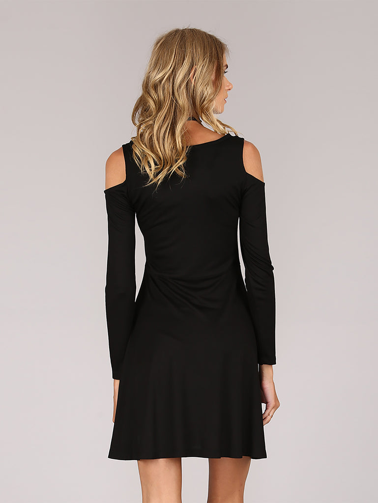 Feeding Time Dress - Black