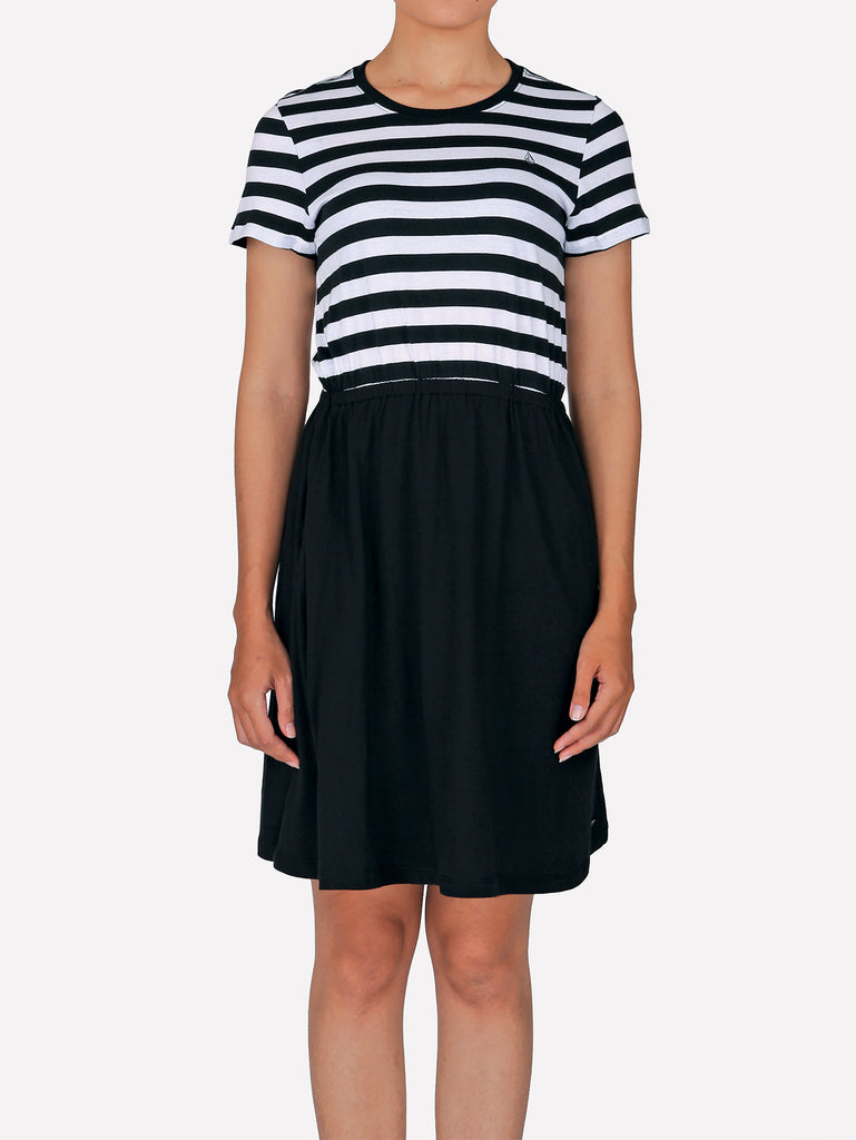 Half Day Dress - Black Combo
