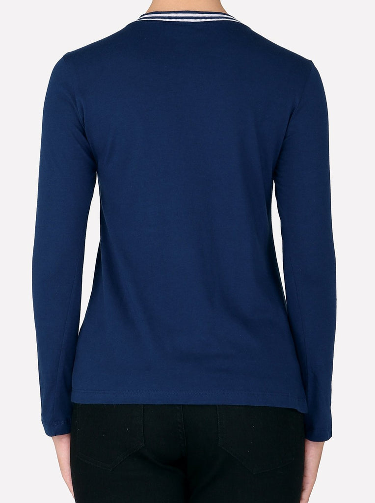 Minimal Long Sleeve - Blue