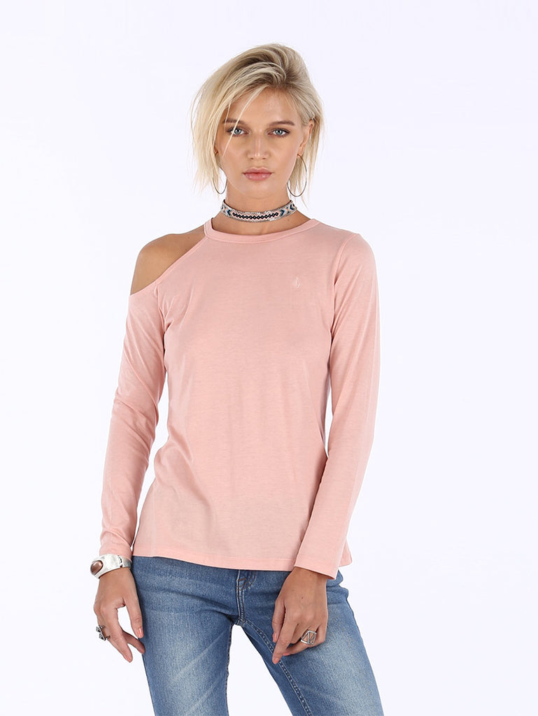 Riverside Long Sleeve Top - Mellow Rose