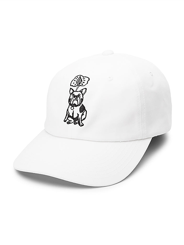 Stone Wonder Dad Cap - White