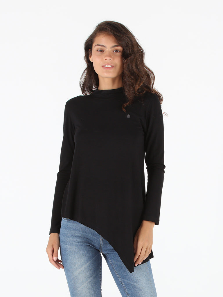 Symptoms 2 Long Sleeve Top - Black