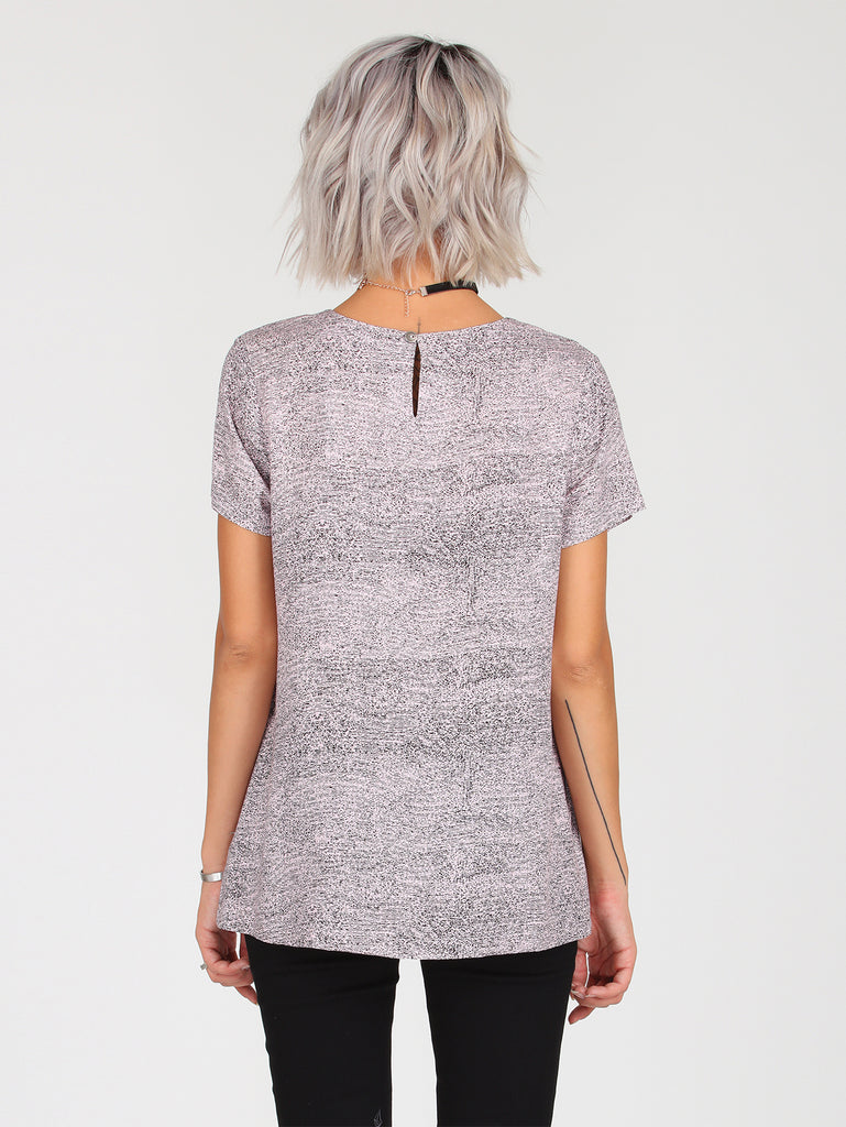 Volcom Magnetic Fashion Top - Blush Pink