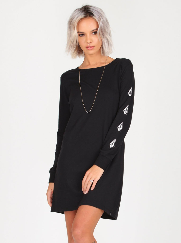 What A Trip Dress - Black