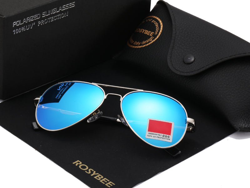 Small size Polarized Aviation UV400 Sunglasses Classic Pilot 54mm - Unisex