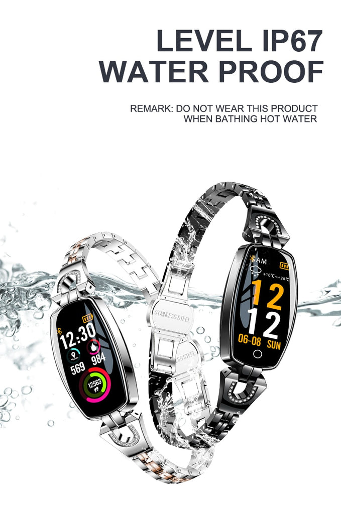 LEMFO H8 Smart Watch Women - Waterproof - Bluetooth For Android and IOS Fitness Bracelet