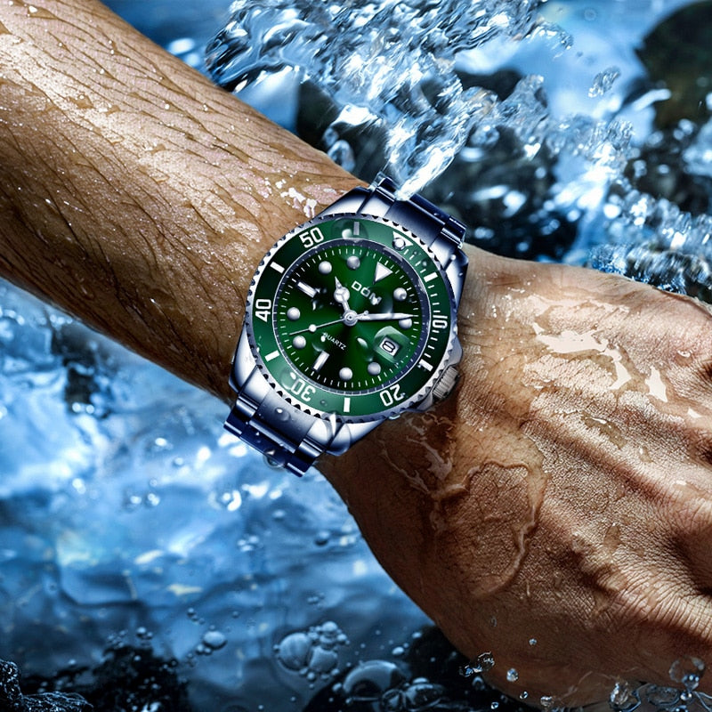 Men's Quartz Luxury Waterproof Watch
