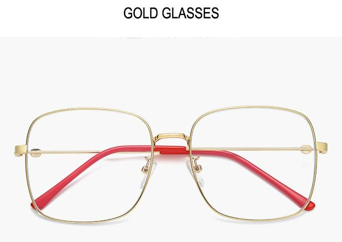 COOMBS Gold Frame - Men's Blue Light Glasses Collection '19/20 (WTYJ144 GOLD)