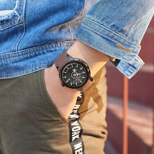 Mens Watches Top Luxury Brand NAVIFORCE Men Unique Sports Watch Men's Quartz Date Clock Waterproof Wrist Watch Relogio Masculino