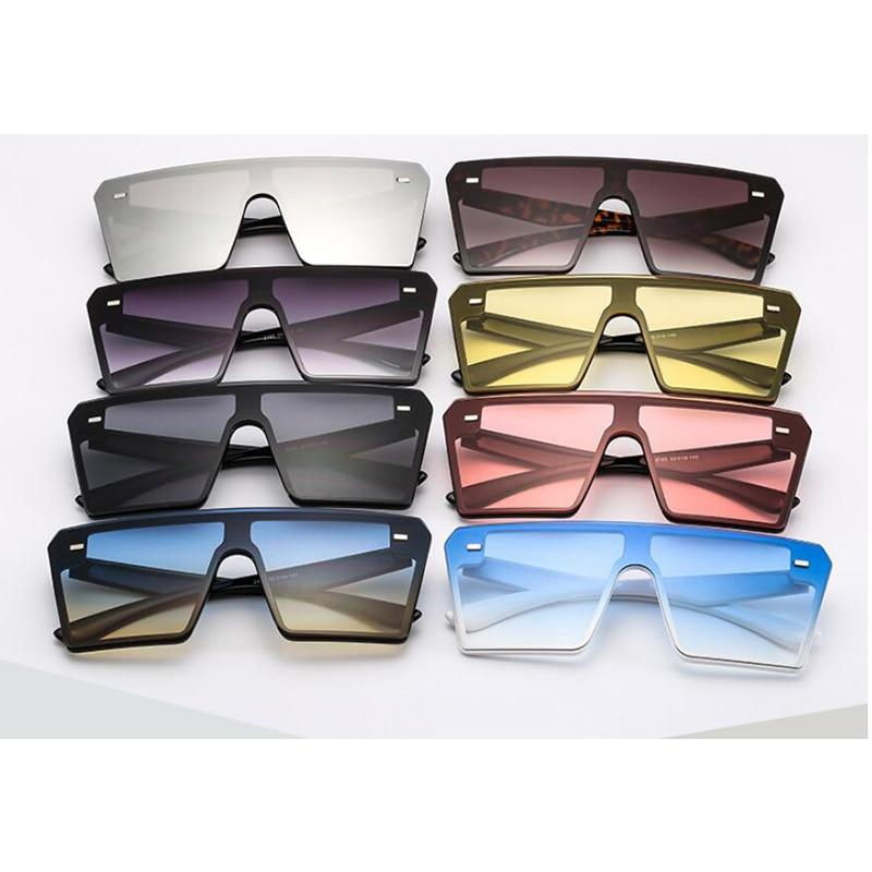 PARIS - Women's Square Flat Top Sunglasses Collection '19/20