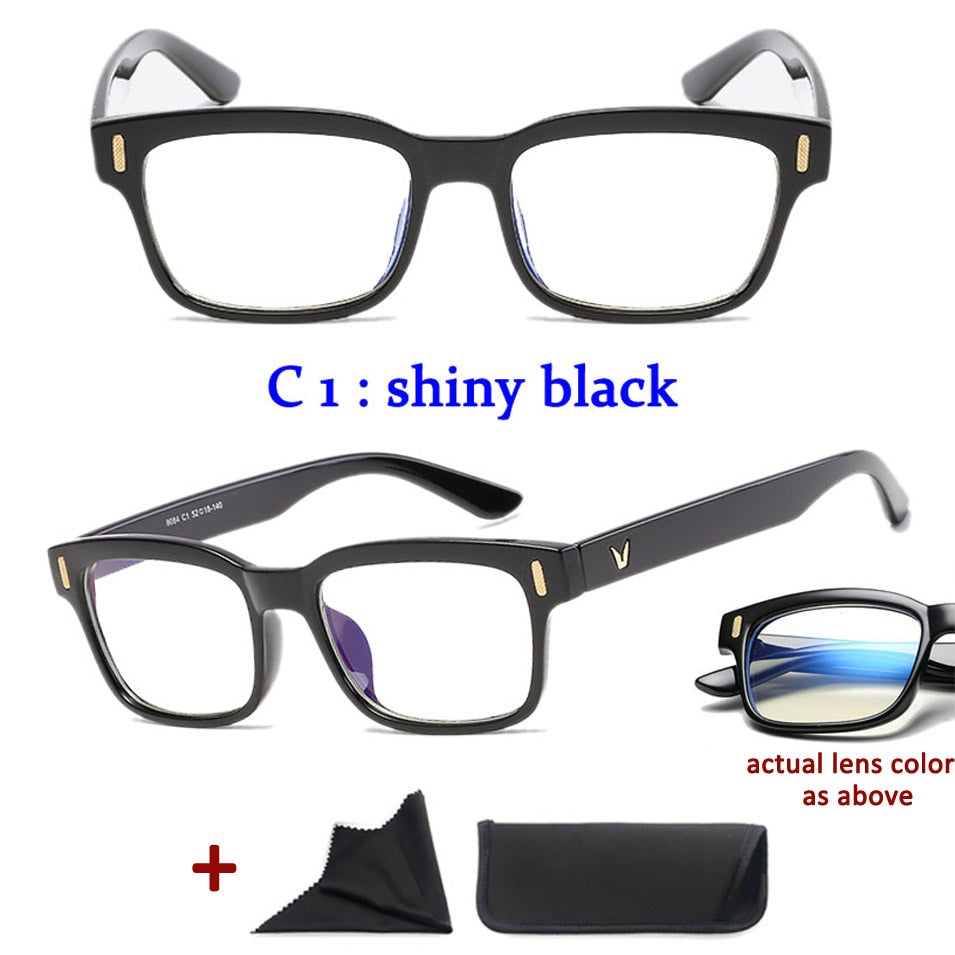 Blue Rays Blocking - Protection for Computer, Phone, Tablet Eyewear.