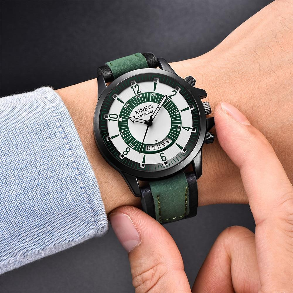 Vintage Quartz Watch Men Watches Top Brand Luxury Male Clock Business Mens Wrist Watch 2018 Reloj Hombre Watch Man Luxury new