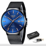 Top Brand Luxury Fashion Slim Mesh Watch
