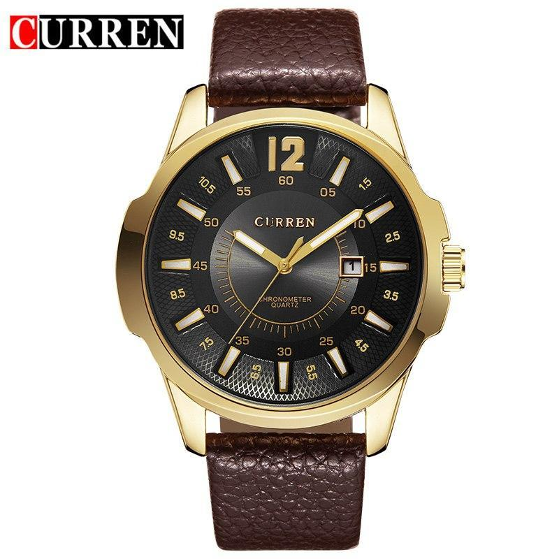 Relogio Masculino Mens Watches Top Brand Luxury Quartz Watch CURREN Fashion Casual Business Watch Male Wristwatches Quartz-Watch
