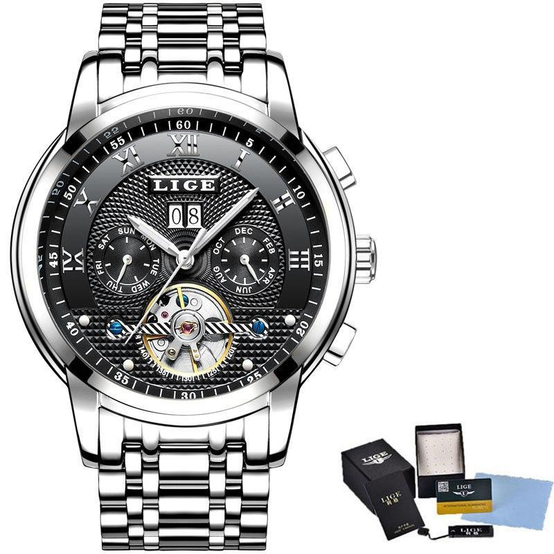Mens Top Brand Luxury Automatic Mechanical Watch