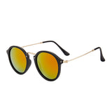 Vintage Round Sunglasses High Quality Brand Designer Sunglass - UV400 Protection - Unisex