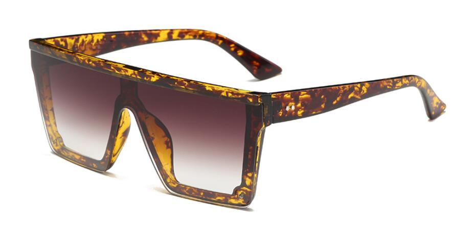 JET SETTERS - Women's Square Flat Top Sunglasses Collection '19/20