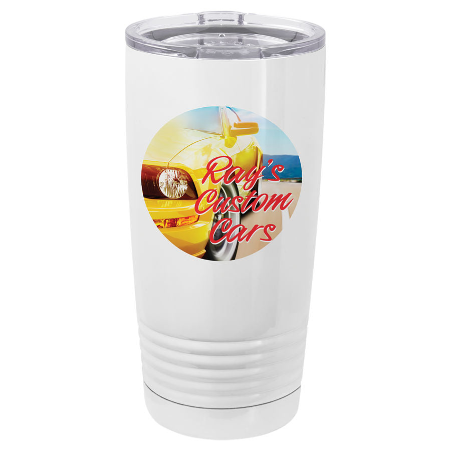20 oz Ring Tumbler w/ Full Color Imprint