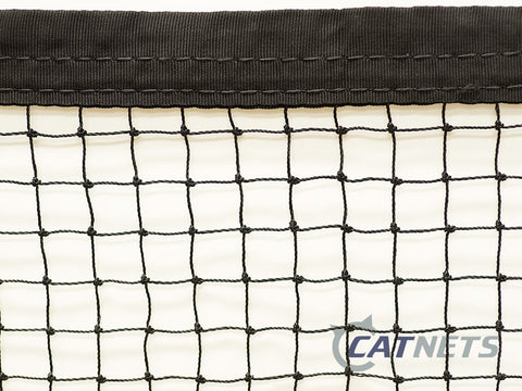 Cat Netting with Reinforced Edging 11m x 1.8m - Catnetsuk