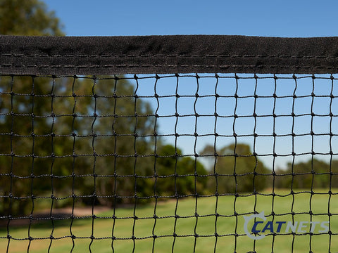 Cat Netting with Reinforced Edging 13m x 1.8m - Catnetsuk