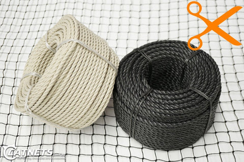 "5mm Edging Rope ""By-The-Metre"" - Catnetsuk"