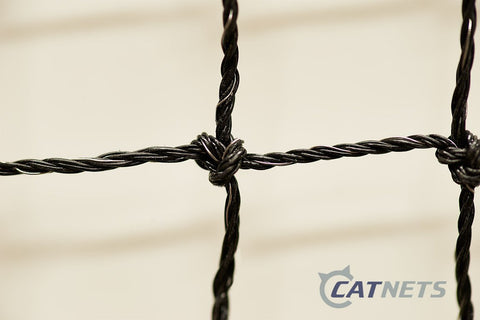 Catnet Premium 19mm W/ Stainless Steel (by-the-metre) - Catnetsuk