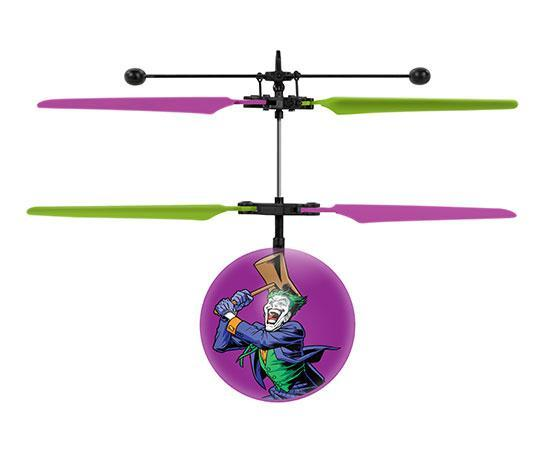DC Joker IR UFO Ball Helicopter Heliball World Tech Toys