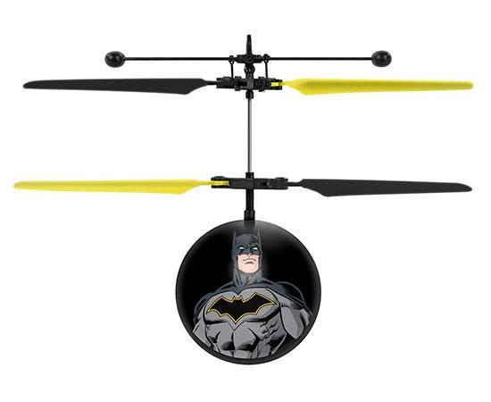DC Justice League Batman IR UFO Ball Helicopter Heliball World Tech Toys