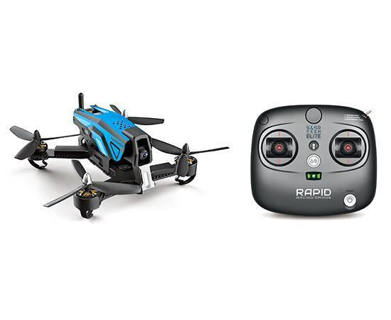 Elite Rapid 6CH 2.4GHz Brushless RC Racing Camera Drone Drones World Tech Toys