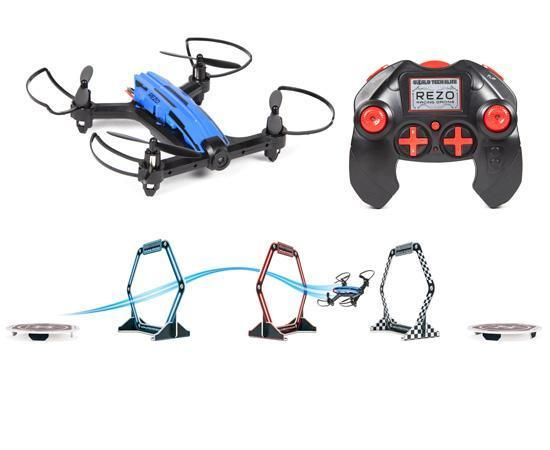 Elite REZO 2.4GHz 4.5CH RC Racing Drone w LED Racing Course Drones World Tech Toys