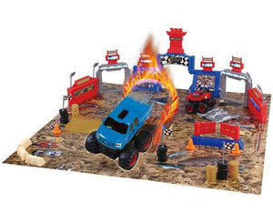 Ford Monster Truck Mayhem Playset 54 Piece Set Playsets World Tech Toys