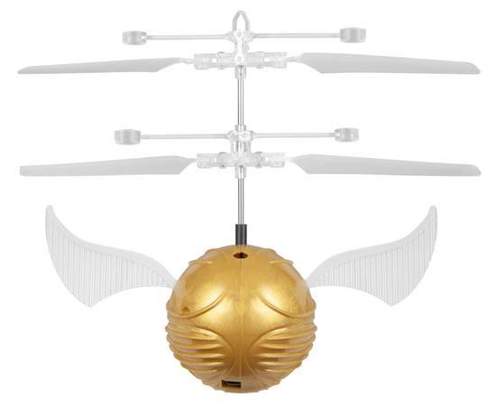 Harry Potter Golden Snitch IR UFO Ball Helicopter Heliball World Tech Toys