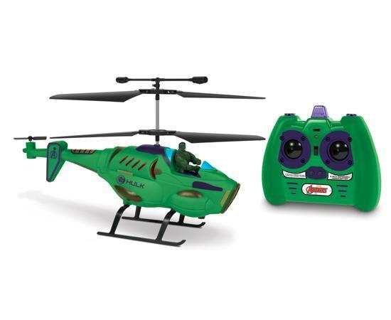 Marvel Avengers Hulk IR Hero Pilot RC Helicopter RC-Helicopters World Tech Toys